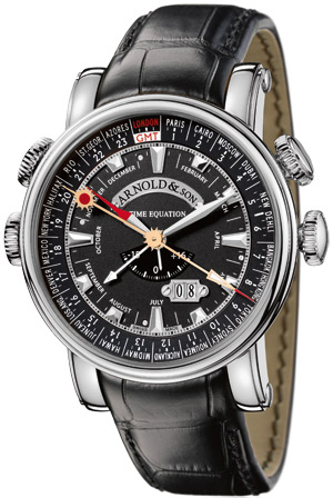 Arnold & Son Royal Collection Hornet World Timer 1H6AS.B05A.C79F