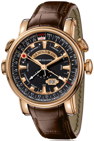 Arnold & Son Royal Collection Hornet World Timer 1H6AP.B06A.C60B