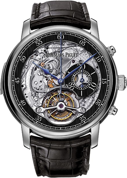 Audemars Piguet Jules Audemars Minute Repeater Tourbillon Chronograph 26345BC.OO.D002CR.01