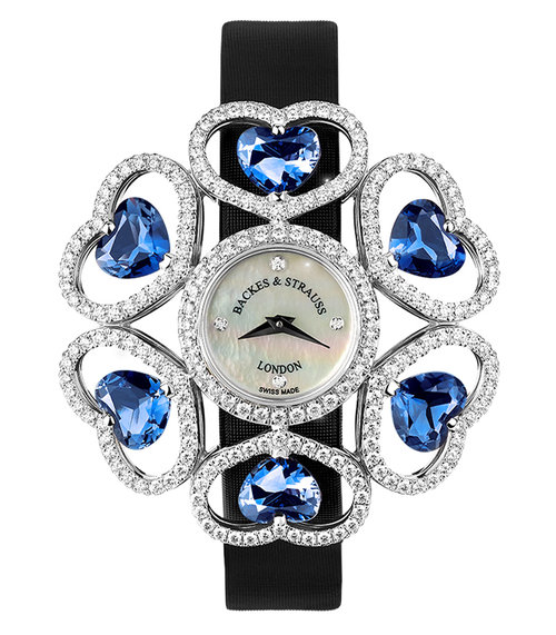 Countess Victoria Topaz Swiss Blue